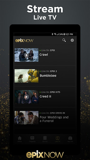 EPIX NOW: Watch TV and Movies screenshot 3