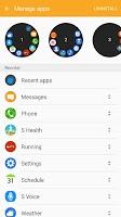 Screenshot of Samsung Gear