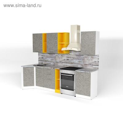 Кухонный гарнитур Валерия прайм 4 900*2000 мм
