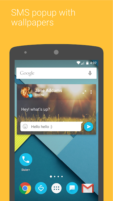 #8. Contacts + (Android)