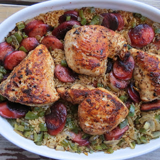 Chicken and Dirty Rice Casserole