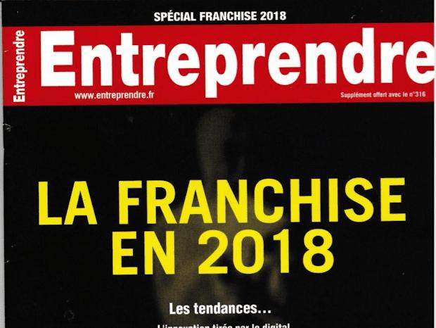 magazine Entreprendre hors serie franchise