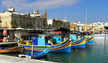 Photo: Marsaxlokk harbor, Malta