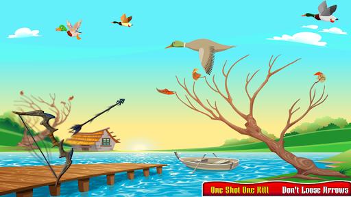 Real Duck Archery 2D Bird Hunting Shooting Game screenshots 1