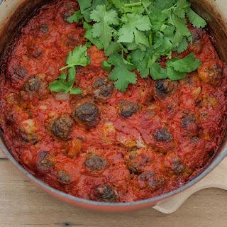 Moroccan Meatball Tajine