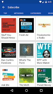 DoggCatcher Podcast Player- screenshot thumbnail