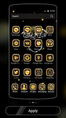 Gold Football Theme Diamond - screenshot