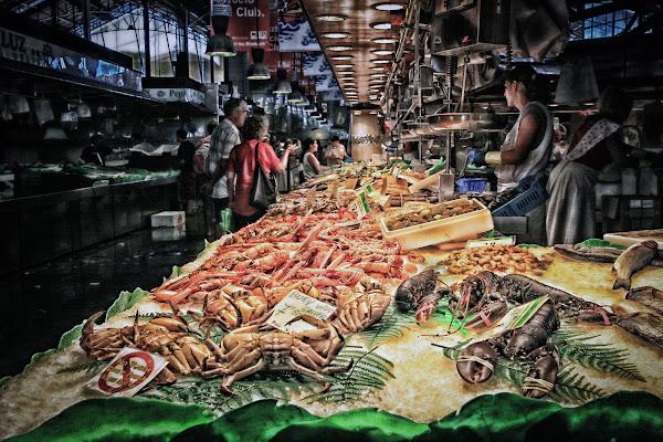 Mercato della Boqueria -Barcellona di sandro5845