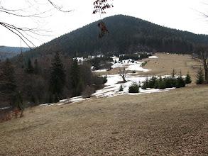 Photo: 06.Bania (1124 m) z Przełęczy Przegibek.