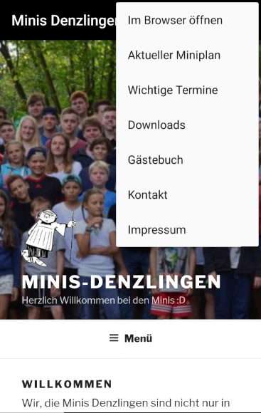 Minis Denzlingen- screenshot