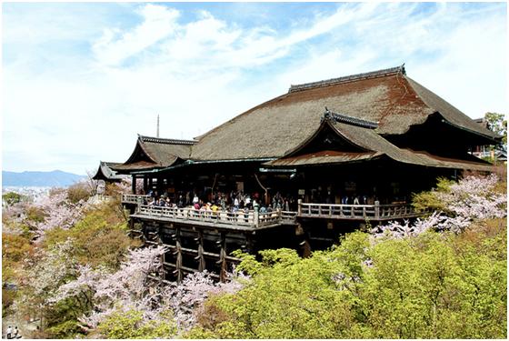 chùa kiyomizu địa danh linh thiêng