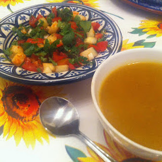 Moroccan Spiced Butternut Squash Soup