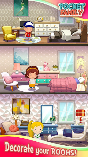 Pocket Family Dreams: Play & Build a Virtual Home screenshots 2