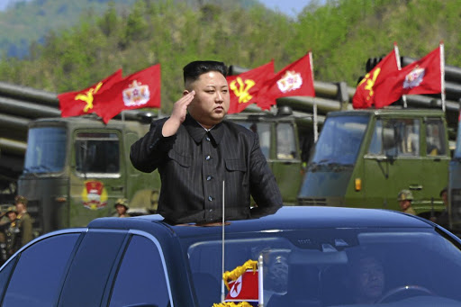North Korean leader Kim Jong-un. Picture: REUTERS