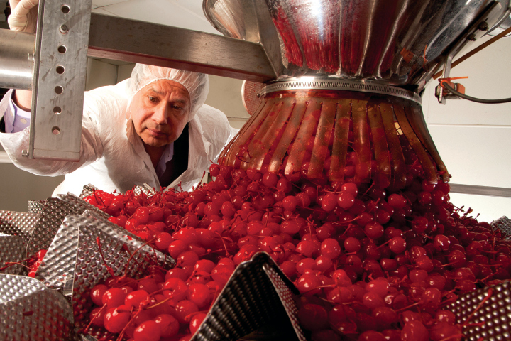 Cherry tycoon kills himself amid drug raid on factory
