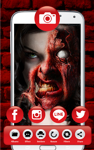 玩免費攝影APP|下載Makeup Zombify app不用錢|硬是要APP