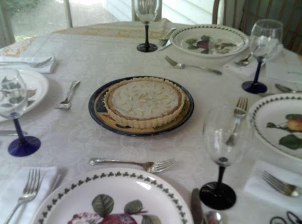 Frangipani Flan (tart) Recipe