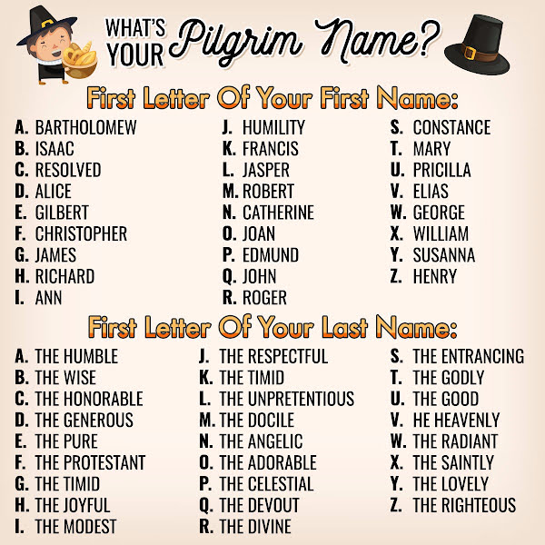 What's Your Turkey Name? Try PlayBrain's Thanksgiving Name