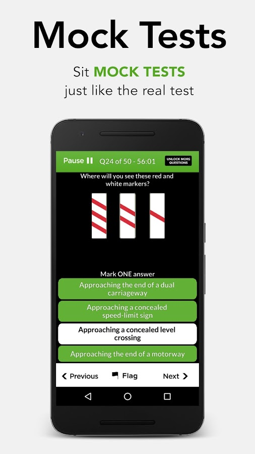 Driving Theory Test Free 2017 for Car Drivers- screenshot