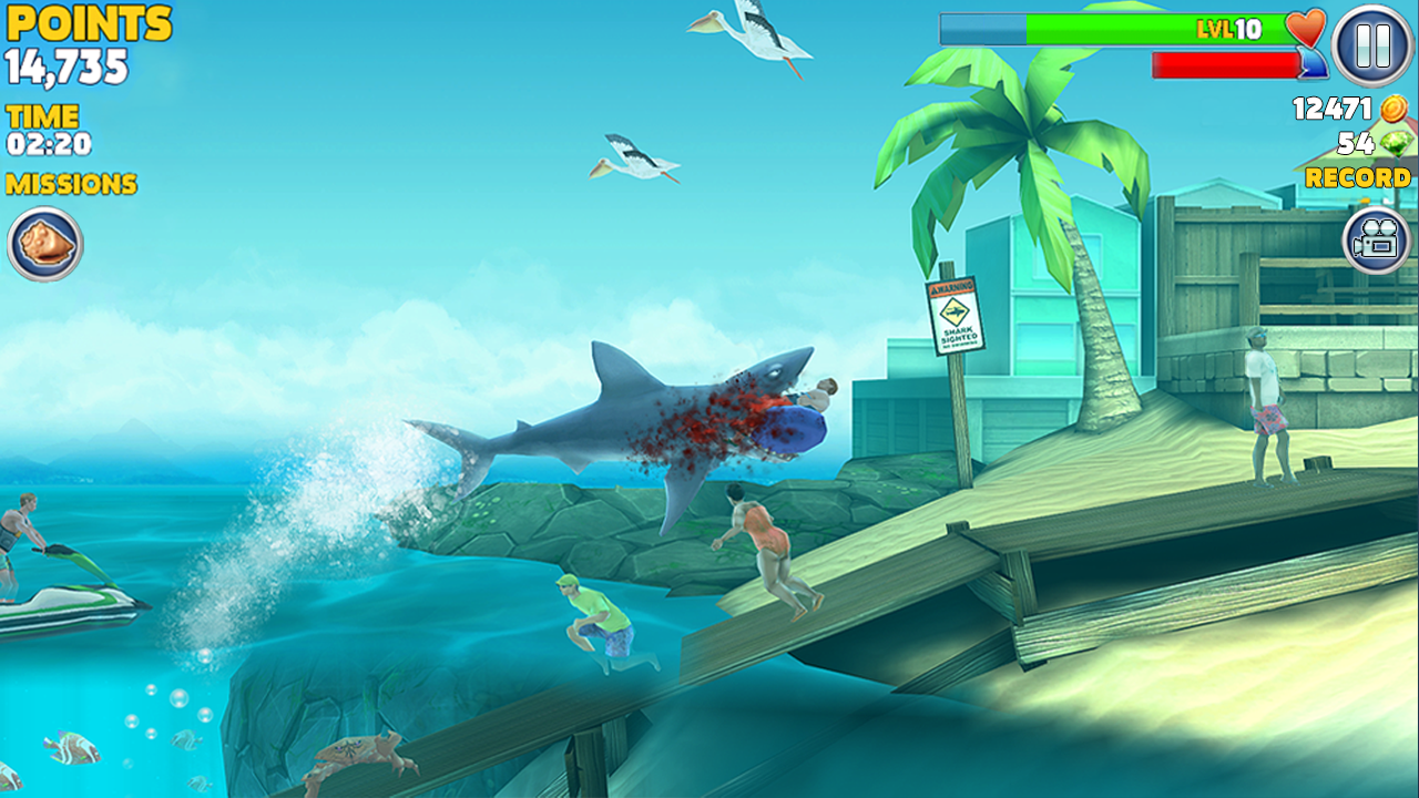 hungry shark evolution android apps on google play hungry shark evolution screenshot