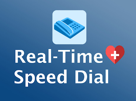 Speed Dial with Drive