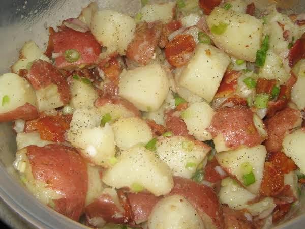 Great Grandma's German Potato Salad Recipe
