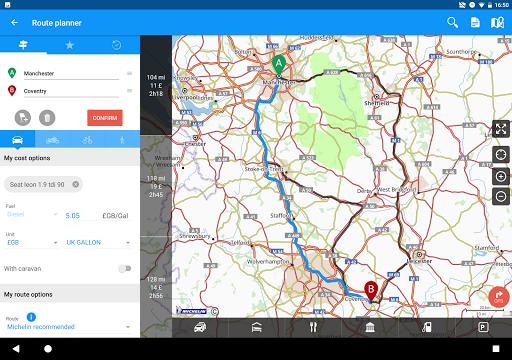 GPS Traffic Speedcam Route Planner by ViaMichelin  screenshots 8