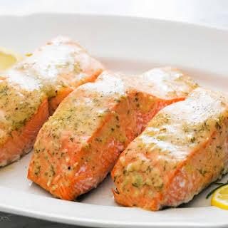 Baked Honey Mustard Salmon Recipes.