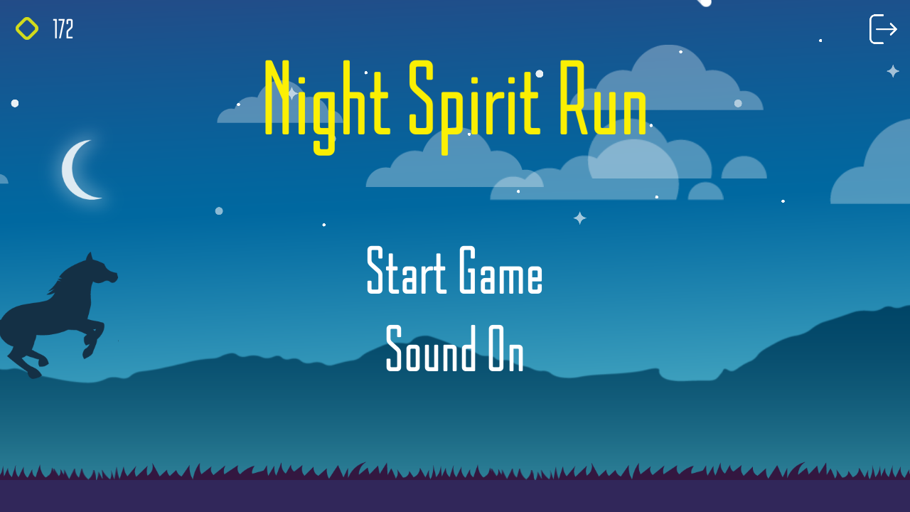 Night Spirit Run- screenshot
