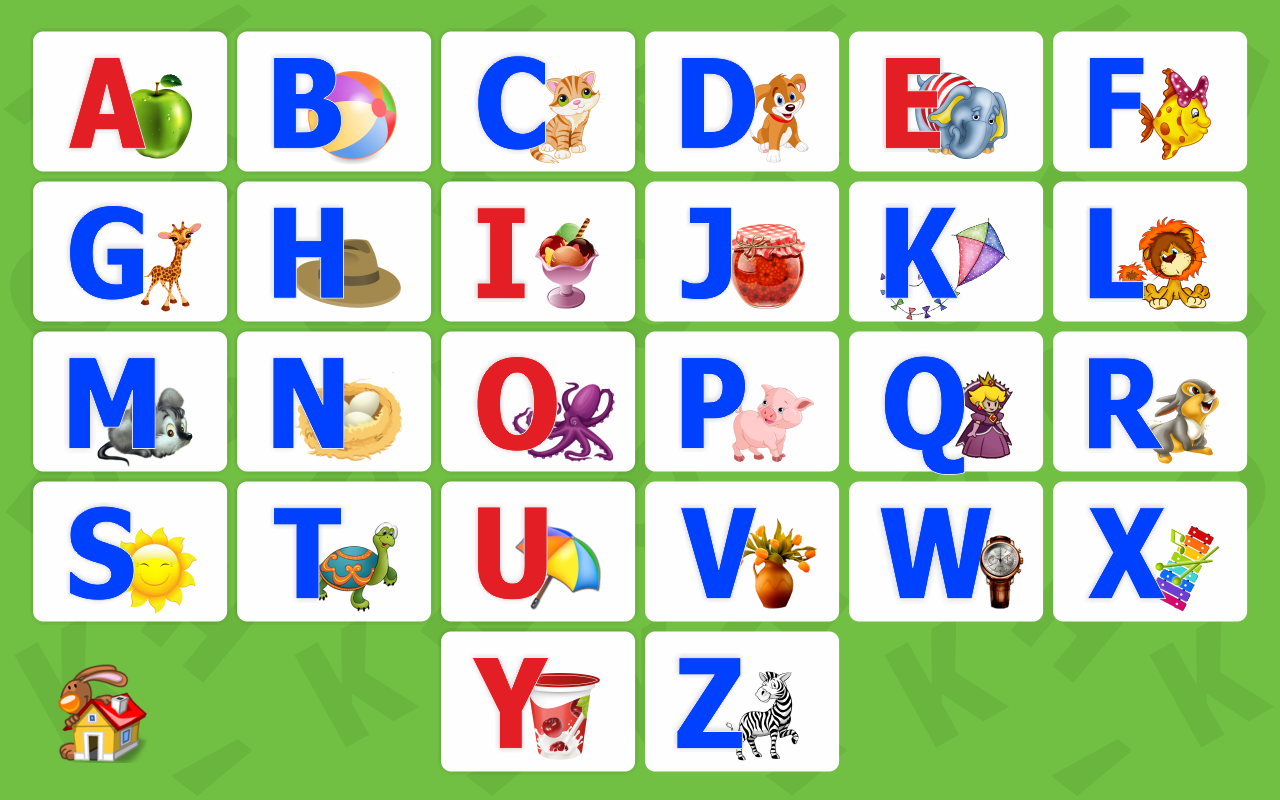alphabet for kids abc screenshot - Alphabet Pictures For Kids