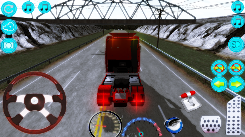 android Actros Truck Simlation Real ! Screenshot 1