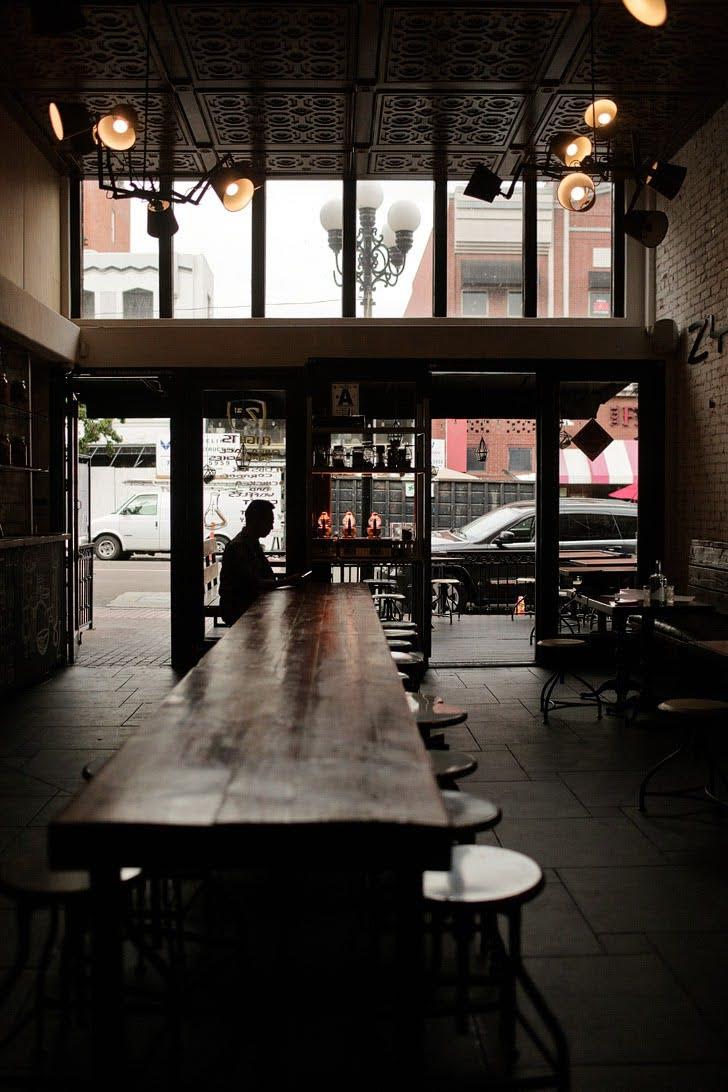 Shrubs at Zymology 21 - Gaslamp Quarter Restaurants.