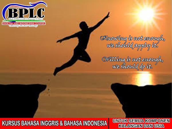 Bplc Bali Lembaga Pendidikan Bahasa Inggris
