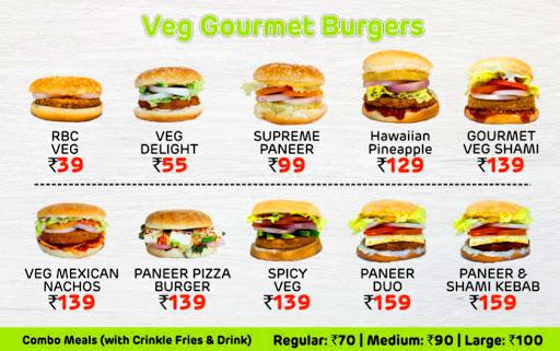 Menu 4 - Rooh Burger Cafe, Connaught Place (CP), New Delhi