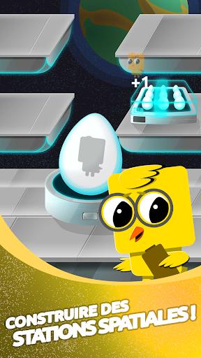 Télécharger Chikin: Universe - Jeu Space Idle Planet mod apk screenshots 1