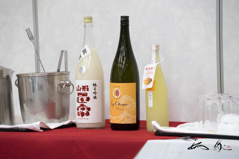 坂下町長さんからのお酒の差し入れが添えられて。。。