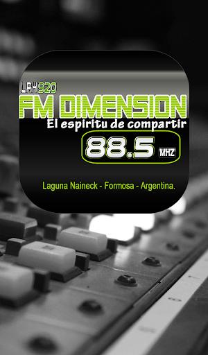 Fm Dimension 88.5 Lag. Naineck