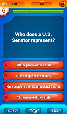 android US Citizenship Questions Screenshot 6