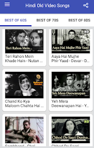 Hindi Old Songs Video App Download For Android 9