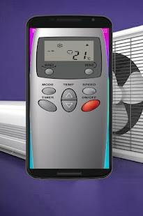 Air Conditioner Remote For LG screenshot