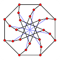Graph theory icon
