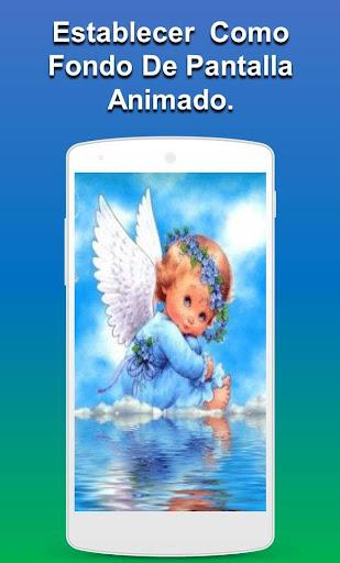 Fondos de pantalla de angeles animados