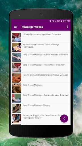 Body Massage Videos - Hot Stones and Full Body 2.0 Screenshots 3