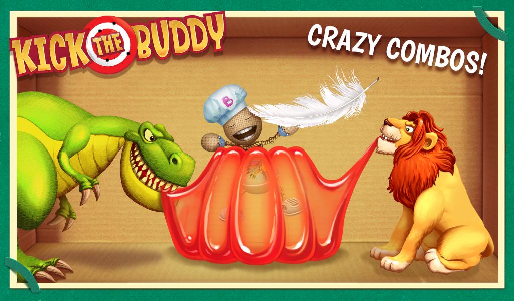 Kick the Buddy Android App Screenshot
