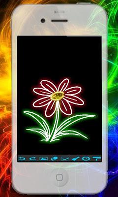 Kid Glow Draw - screenshot