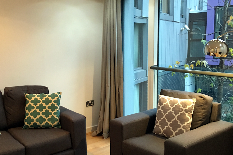 Living room at Clerkenwell Executive