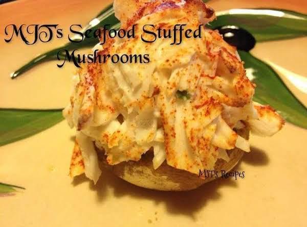 Mjt's Seafood Stuffed Mushrooms
