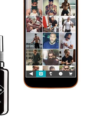 Beard and Moustache Men's Knob - screenshot