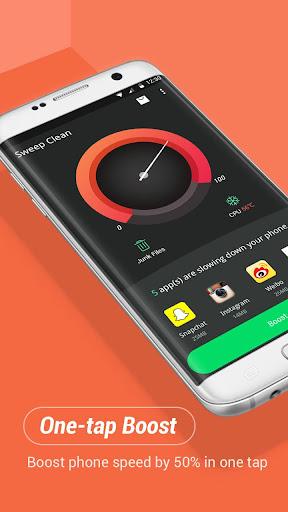 Sweep Clean - boost, clean, app lock screenshot