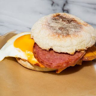 New Jersey-Style Pork Roll Breakfast Sandwiches